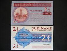 SURINAME  2 1/2 Dollars 2004  (P156)  UNC
