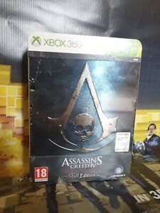 Assassin's Creed Iv Black Flag Skull Edition NUOVO xbox 360 pal italiano
