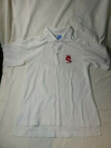 vintage UNIVERSITY OF DAYTON polo shirt 1980's UD FLYERS MEDIUM CHAMPION