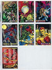 1994 Spider-man trading card singles.$1.00 each card.