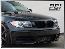 BMW 118i 128i 135i 07-13 E82 E88 Front Matte Black Hood Grille Grill Performance
