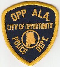 OPP ALABAMA AL OLDER POLICE PATCH