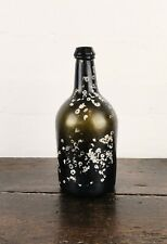An 18th century wine bottle