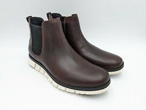 Cole Haan Zerogrand Chelsea Brown Leather Boot C30716 Men's Size 9 Chestnut