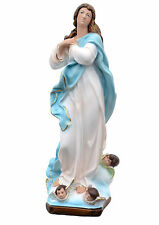 Virgin Mary assumption by Murillo resin statue cm. 52