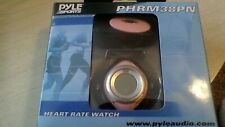 Pyle PHRM38PN Heart Rate Watch Pink and Black New Box was Opened