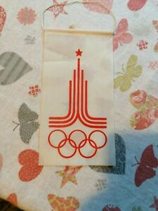 OLYMPIC GAMES MOSCOW 1980, PENNANT