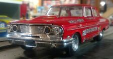 Gas Rhonda 1964 Ford Thunderbolt Russ Davis Ford 1/32nd Scale Slot Car Decals