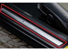 MINI NEW GENUINE CLUBMAN R55 S DOOR ENTRY SILL STRIP TRIM LEFT+RIGHT SET