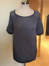 Monari Top Size 18 BNWT Blue And White Striped RRP £75 Now £34
