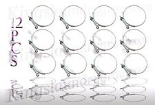"""12pcs Brand New 2-3/4"""" X 3-1/8"""" Hose Clamp For Wascomat 787104"""