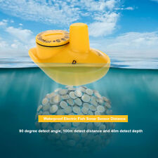 Portable Fish Finder Ice Fishing Sonar Sensor 100M Depth Sounder Alarm 90 Degree