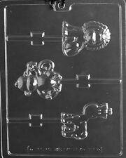 Monkey, Giraffe, Lion Lolly Chocolate Mold Soap Candy Birthday Party Favor m275