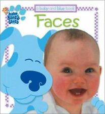 Blue's Clues: Faces by Jenny Miglis (2002, Board Book)