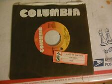 LOVERBOY doa / lady of the 80's JUKEBOX STRIP  COLUMBIA company sleeve   45
