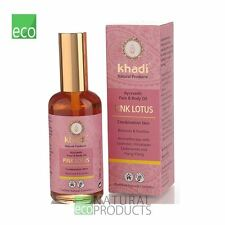 Khadi Ayurvedic Face and Body Oil Pink Lotus Combination Skin 100ml