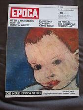Epoca 1966 Zeitschrift Pablo Picasso Rembrandt Die Nachtwache Brüssel Buddhismus