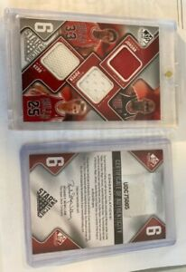 6 Star Swatches Authentic SP Game used edition 57/99. (michael jordan, scottie p