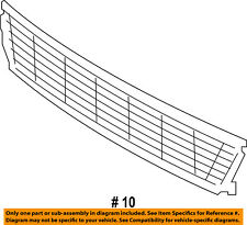 FORD OEM 16-17 Explorer-Grille-Lower FB5Z17K945AA