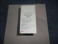 Mitsubishi FR-E520-0.75-CD E500 1 HP Inverter