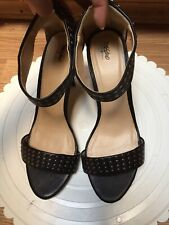 Studded Target Mossimo Black High Heels Size 8