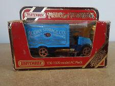 Matchbox Model of Yesteryear - Y301920 Model AC Mack Acorn Storage 1984 ltd Ed