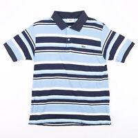 Vintage LACOSTE  Blue Classic Short Sleeve Polo Shirt Mens M
