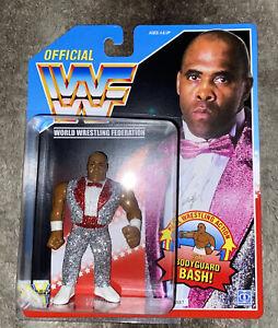 WWF Hasbro MOC  Virgil Bodyguard - Custom action figure trading card