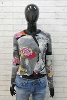 Kenzo Paris Blusa da Donna Maglia Taglia XS Camicia Manica Lunga Shirt Woman