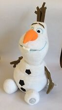 OLAF – THE SNOWMAN FROM FROZEN – DISNEY STORE - SOFT PLUSH TOY