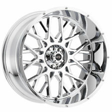 20x12 Chrome Wheels Vision 412 Rocker 6x5.5/6x139.7 -51 (Set of 4)