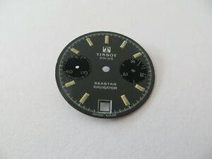 Cadran Montre Tissot Seastar Navigator Vintage - Valjoux 7734