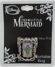 NEW Disney The Little Mermaid Ursula Stained Glass Filigree Ring Adjustable Band