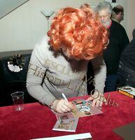 Giorgia Trasselli Casa Vianello Foto autografata Signed Photo Autografo Cinema