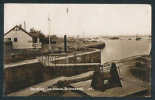 More details for gravesend - yachting club house - c.1910 - real photo #25