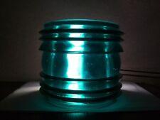 Fresnel lens. Large. Green.USSR.Vintage,original. New. Old stock