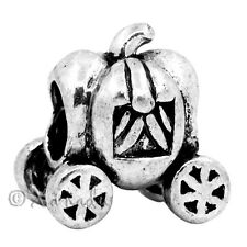 Cinderella Pumpkin Carriage European Charm Bead - Fairytale Charm Bracelet