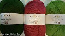 Rowan Pure Wool Superwash Worsted, verschiedene Farben zur Auswahl
