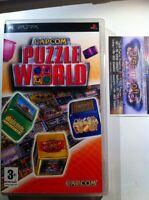 Capcom Puzzle World  PSP - GIOCO PAL ITA PRIMA RELEASE