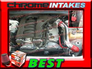 K&N+RED 05-10 DODGE MAGNUM/CHARGER/CHALLENGER/CHRYSLER 300 3.5L COLD AIR INTAKE
