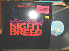 Night Breed Orig Soundtrack LP '90 Clive Barker Danny Elfman nightbreed  PROMO !
