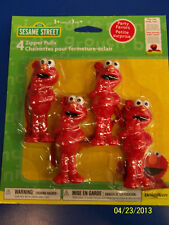 Elmo Loves You Sesame Street TV Kids Birthday Party Favor Backpack Zipper Pulls