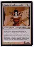 MTG SPANISH FOIL CHAMPIONS OF KAMIGAWA MASAKO THE HUMORLESS MINT WHITE RARE