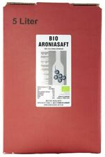 Bio Aroniasaft Direktsaft 5L ohne ZUsätze (5,79€/1l)