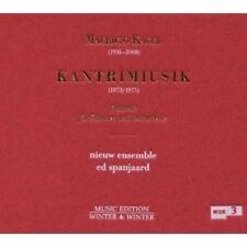 NIEW ENSEMBLE - KAGEL,M.:KANTRIMIUSIK  CD NEU