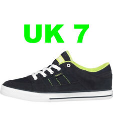 DuFFS Mens Slice Skate Shoes Ink/Lime UK 7 Skater Board Trainers Christmas Gift