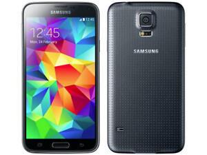 Samsung Galaxy S5 SM-G900F - 16GB - Midnight Black (Unlocked) Smartphone