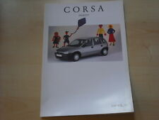 52805) Opel Corsa B Family Prospekt 04/1996