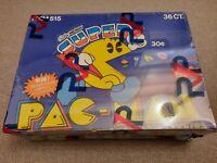 1982 Fleer PAC MAN RVP SEALED & FASC Wax Sticker Box Like BBCE OPC Topps Donruss