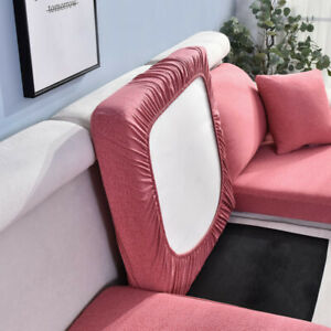 Sofa Seat Cushion Cover Stretch Chair Couch Slipcover Settee Backrest Protector#